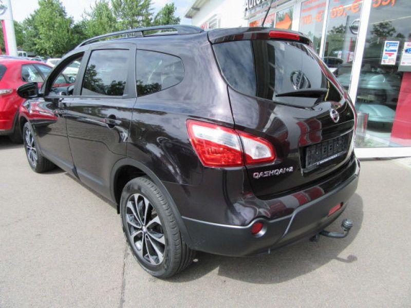 Nissan Qashqai 1.6 DCI 7 places Noir occasion à Beaupuy - photo n°2