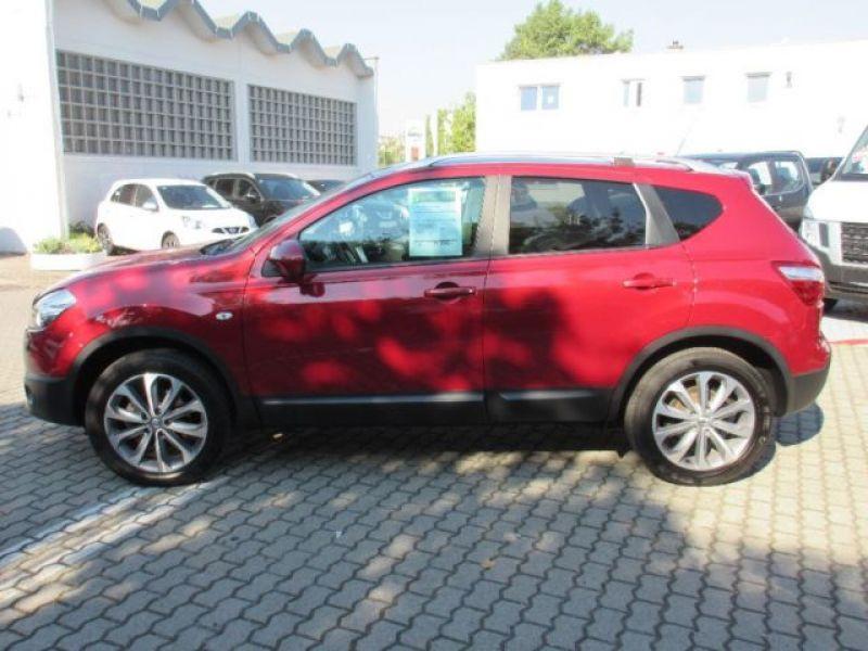 Nissan Qashqai 1.6 DCI TEKNA Rouge occasion à Beaupuy - photo n°4