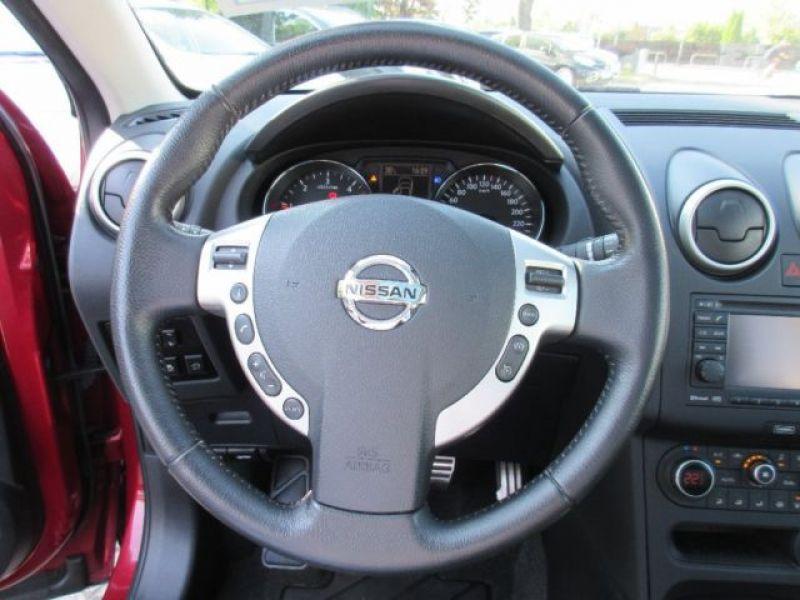 Nissan Qashqai 1.6 DCI TEKNA Rouge occasion à Beaupuy