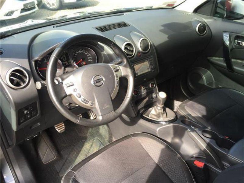 Nissan Qashqai 1.6 DCI Gris occasion à Beaupuy - photo n°4