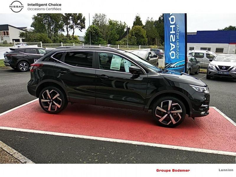 Nissan Qashqai 2019 EVAPO 1.3 DIG-T 140 Tekna Noir occasion à LANNION - photo n°4