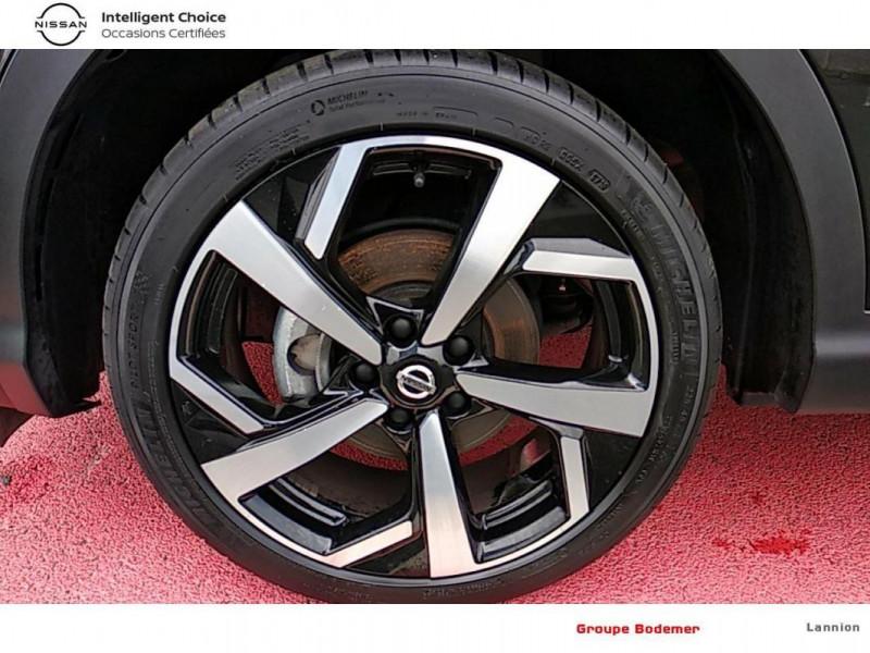 Nissan Qashqai 2019 EVAPO 1.3 DIG-T 140 Tekna Noir occasion à LANNION - photo n°15