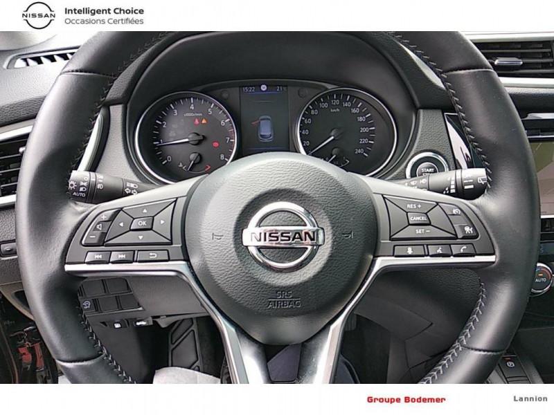Nissan Qashqai 2019 EVAPO 1.3 DIG-T 140 Tekna Noir occasion à LANNION - photo n°9