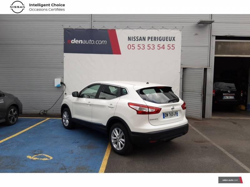 Nissan Qashqai BUSINESS 1.6 dCi 130 Stop/Start Edition Blanc occasion à Périgueux - photo n°7