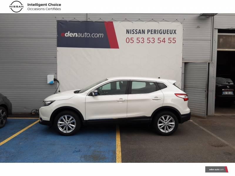 Nissan Qashqai BUSINESS 1.6 dCi 130 Stop/Start Edition Blanc occasion à Périgueux - photo n°2