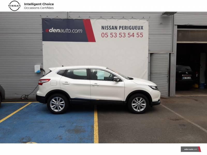 Nissan Qashqai BUSINESS 1.6 dCi 130 Stop/Start Edition Blanc occasion à Périgueux - photo n°4