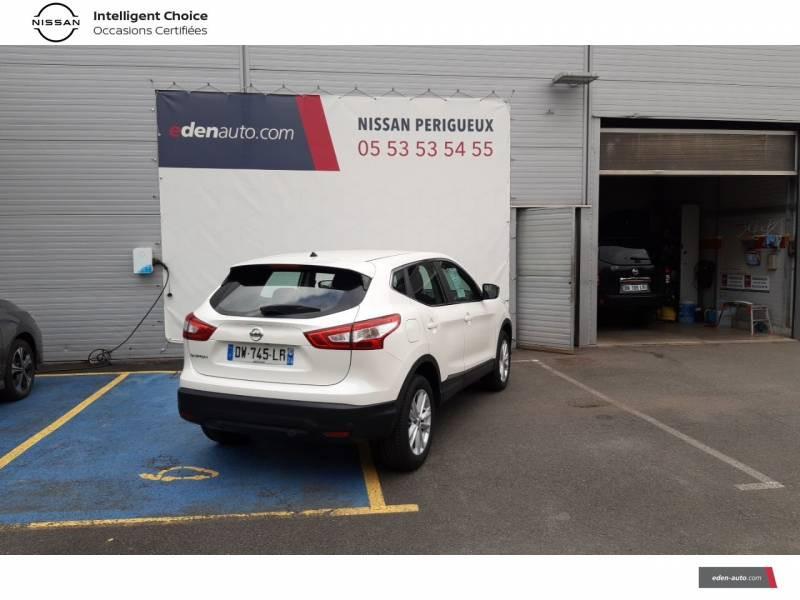 Nissan Qashqai BUSINESS 1.6 dCi 130 Stop/Start Edition Blanc occasion à Périgueux - photo n°3