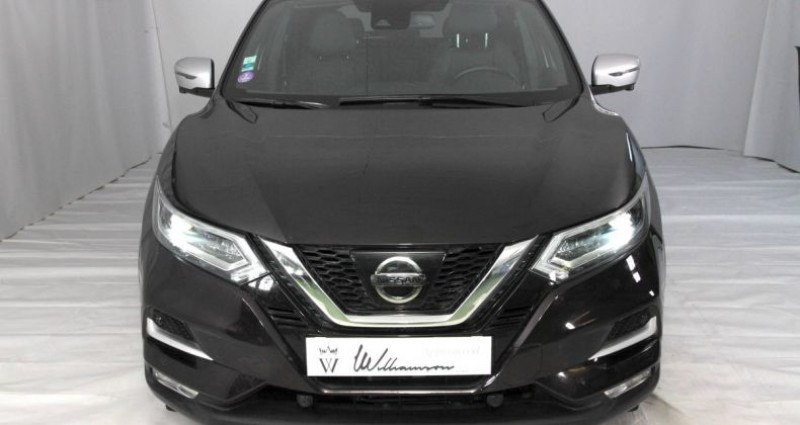 Nissan Qashqai i 1.2 t 115 x tronic Noir occasion à Neuilly Sur Seine - photo n°2