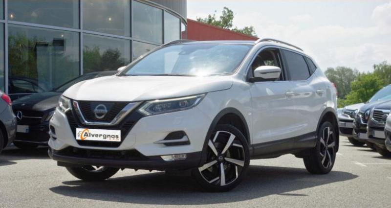 Nissan Qashqai II (2) 1.5 DCI 110 TEKNA Blanc occasion à Chambourcy