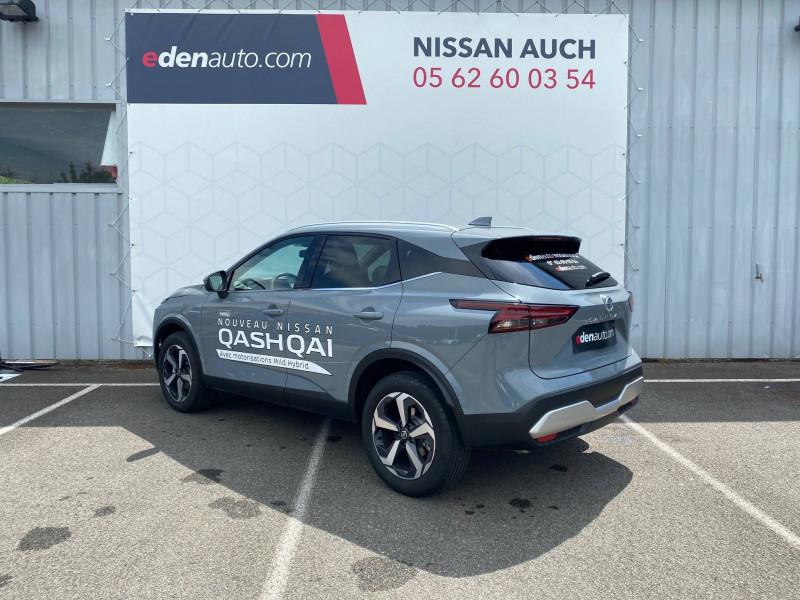 Nissan Qashqai Qashqai Mild Hybrid 140 ch N-Connecta 5p Gris occasion à Auch - photo n°3