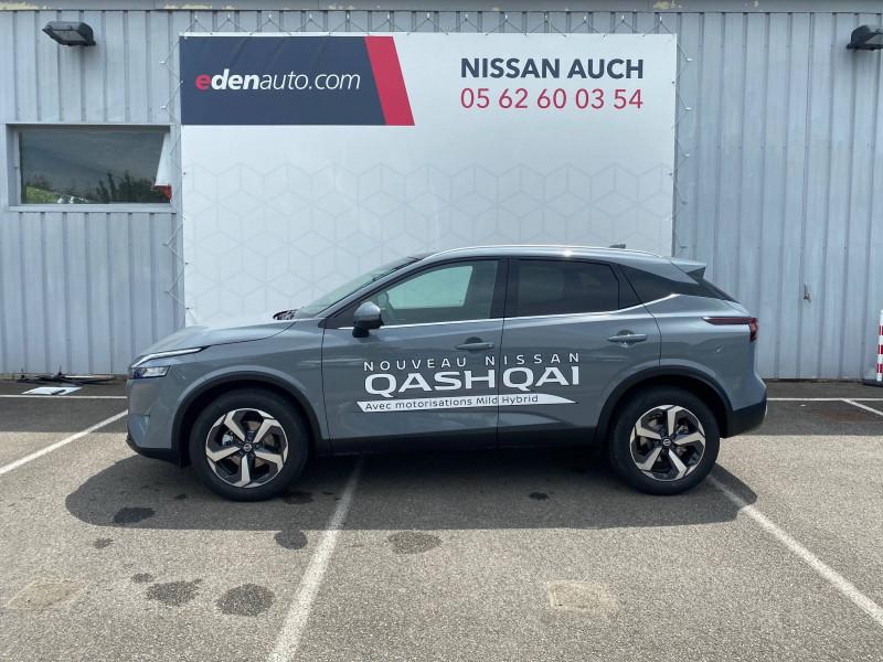 Nissan Qashqai Qashqai Mild Hybrid 140 ch N-Connecta 5p Gris occasion à Auch - photo n°2