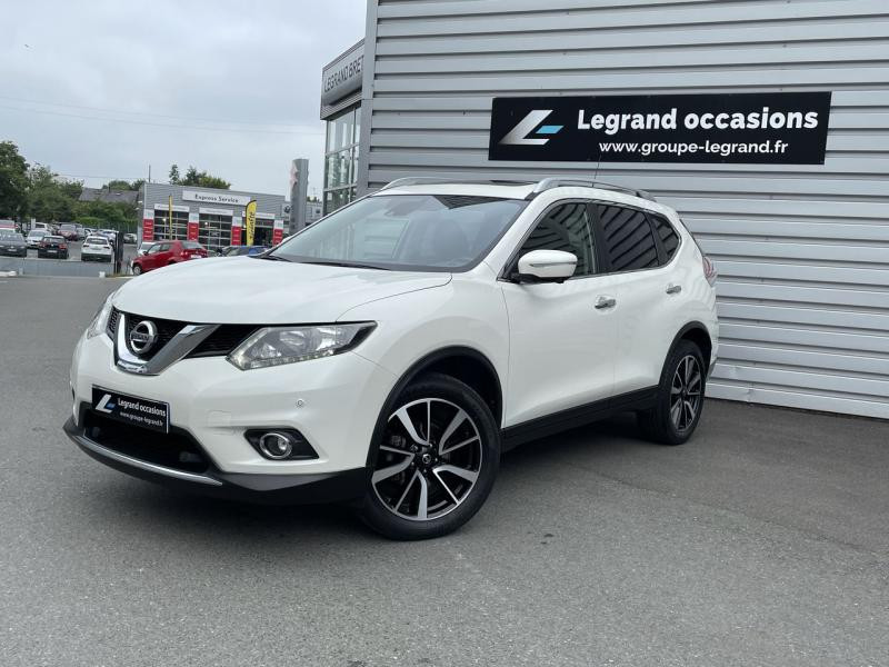 Nissan X-Trail 1.6 dCi 130ch N-Connecta Euro6 Blanc occasion à Saint-Brieuc