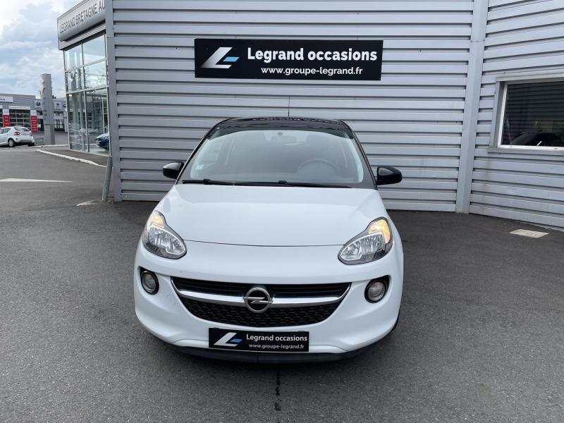 Opel Adam 1.4 Twinport 87ch Jam Start/Stop Blanc occasion à Saint-Brieuc - photo n°2