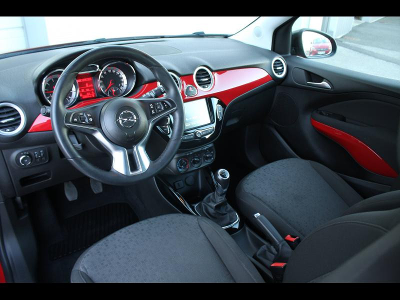 Opel Adam 1.4 Twinport 87ch Unlimited Start/Stop Rouge occasion à Flers - photo n°4