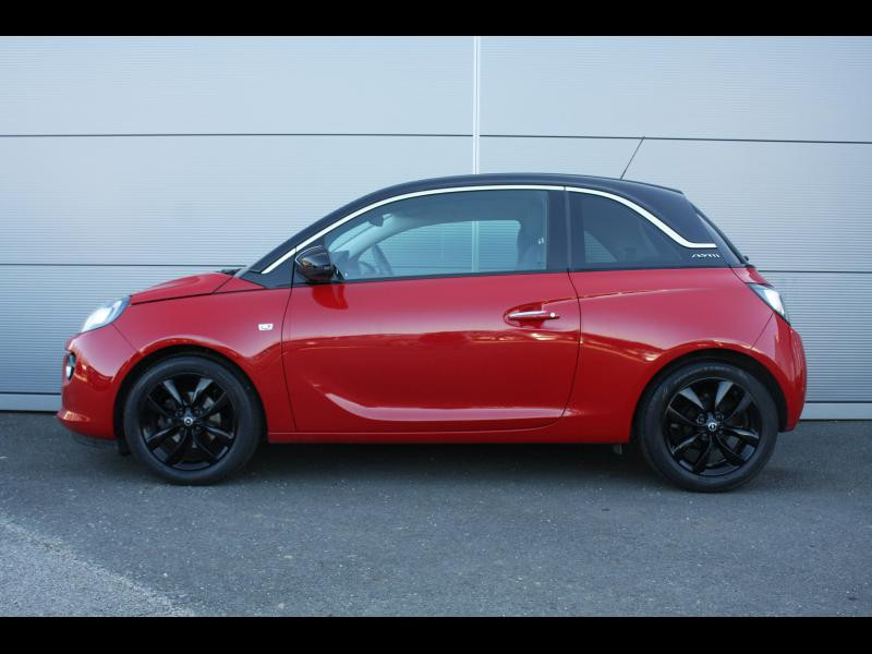 Opel Adam 1.4 Twinport 87ch Unlimited Start/Stop Rouge occasion à Flers - photo n°2