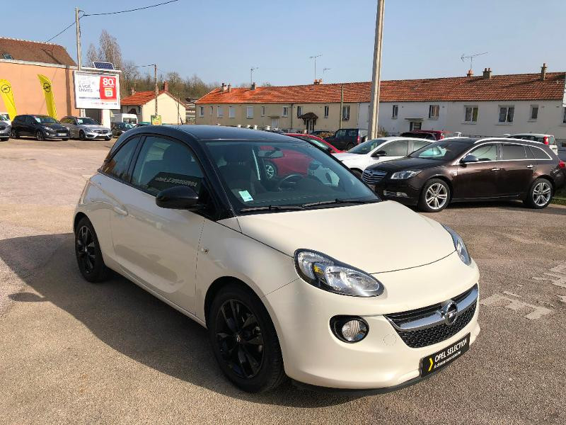Opel Adam 1.4 Twinport 87ch Unlimited Start/Stop Blanc occasion à Auxerre - photo n°7