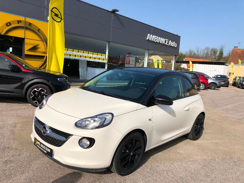 Opel Adam 1.4 Twinport 87ch Unlimited Start/Stop Blanc occasion à Auxerre