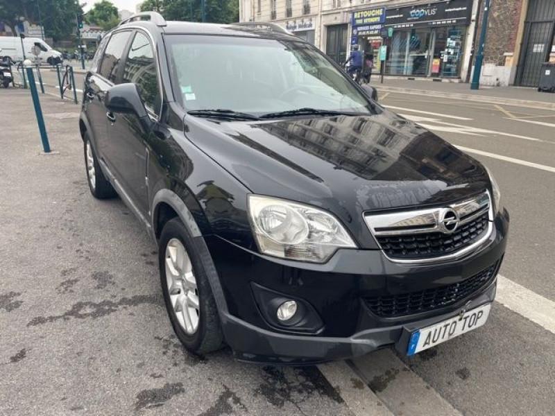 Opel Antara 2.2 CDTI 163 COSMO PACK STOP/START 4X4 Noir occasion à Pantin - photo n°2