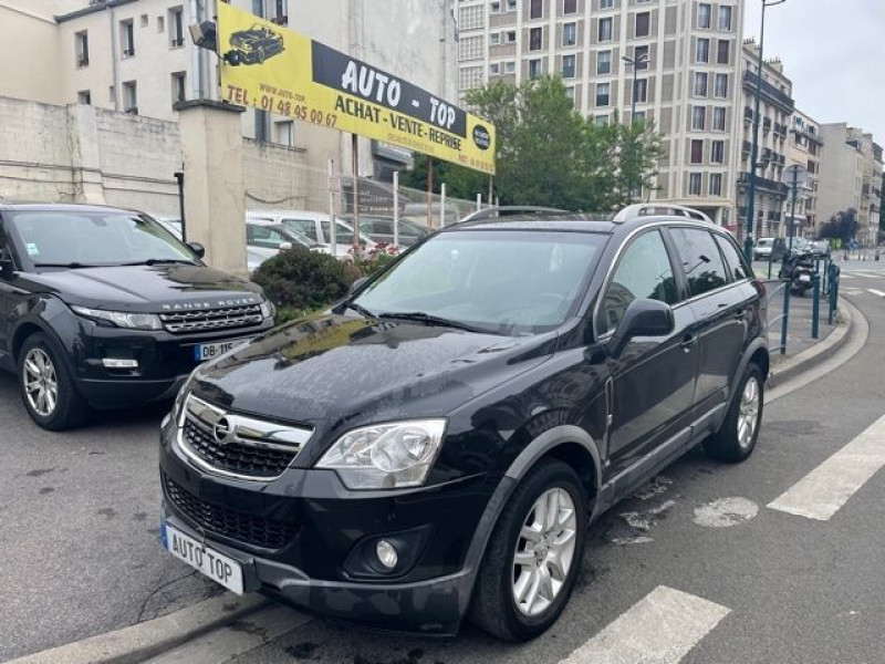 Opel Antara 2.2 CDTI 163 COSMO PACK STOP/START 4X4 Noir occasion à Pantin