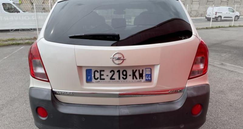 Opel Antara 2.2 CDTI163 Cosmo Pack 4X4 Blanc occasion à VERTOU - photo n°3