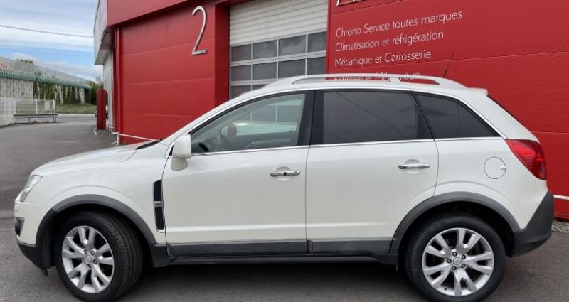 Opel Antara 2.2 CDTI163 Cosmo Pack 4X4 Blanc occasion à VERTOU - photo n°2