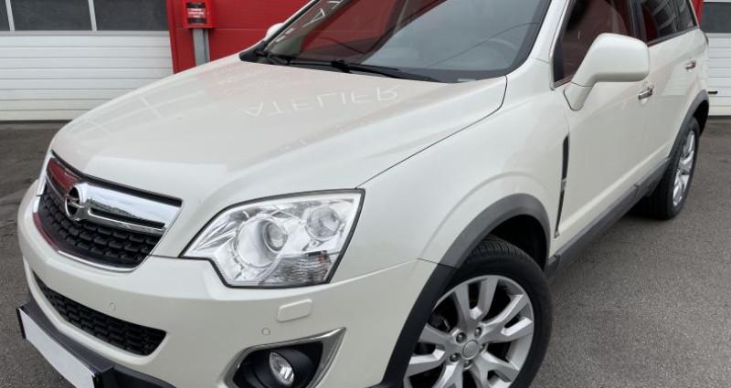 Opel Antara 2.2 CDTI163 Cosmo Pack 4X4 Blanc occasion à VERTOU