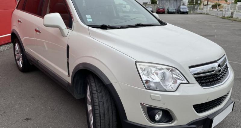 Opel Antara 2.2 CDTI163 Cosmo Pack 4X4 Blanc occasion à VERTOU - photo n°6