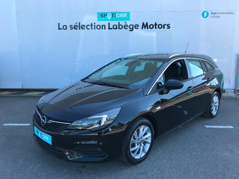Opel Astra Sports tourer 1.4 Turbo 145ch Elegance CVT 8cv Noir occasion à Labège - photo n°3