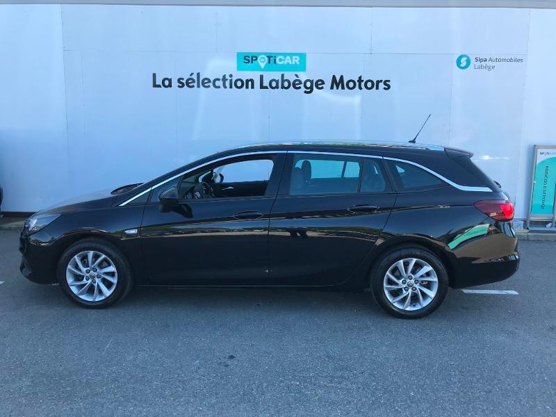 Opel Astra Sports tourer 1.4 Turbo 145ch Elegance CVT 8cv Noir occasion à Labège - photo n°4