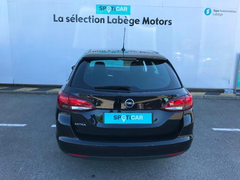 Opel Astra Sports tourer 1.4 Turbo 145ch Elegance CVT 8cv Noir occasion à Labège - photo n°5