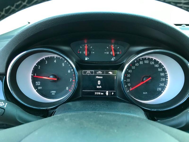 Opel Astra Sports tourer 1.4 Turbo 145ch Elegance CVT 8cv Noir occasion à Labège - photo n°14