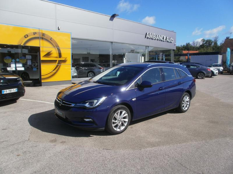 Opel Astra Sports tourer 1.4 Turbo 150ch Start&Stop Innovation Bleu occasion à Auxerre