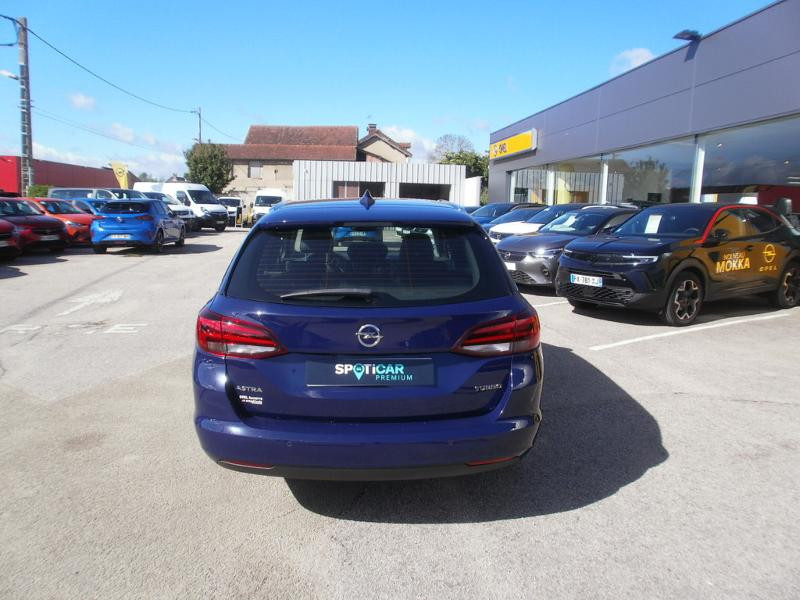 Opel Astra Sports tourer 1.4 Turbo 150ch Start&Stop Innovation Bleu occasion à Auxerre - photo n°4