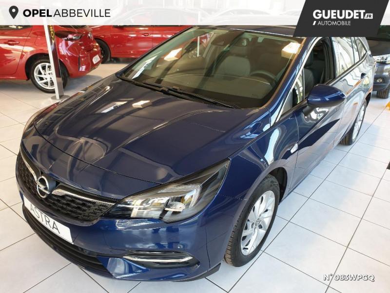Opel Astra Sports tourer 1.5 D 122ch Elegance BVA 112g Bleu occasion à Abbeville