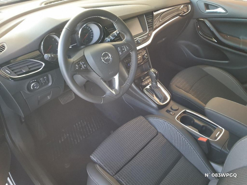 Opel Astra Sports tourer 1.5 D 122ch Elegance BVA 112g Bleu occasion à Abbeville - photo n°4