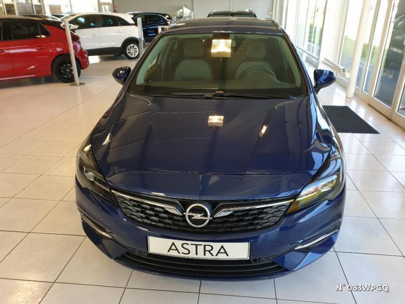 Opel Astra Sports tourer 1.5 D 122ch Elegance BVA 112g Bleu occasion à Abbeville - photo n°2