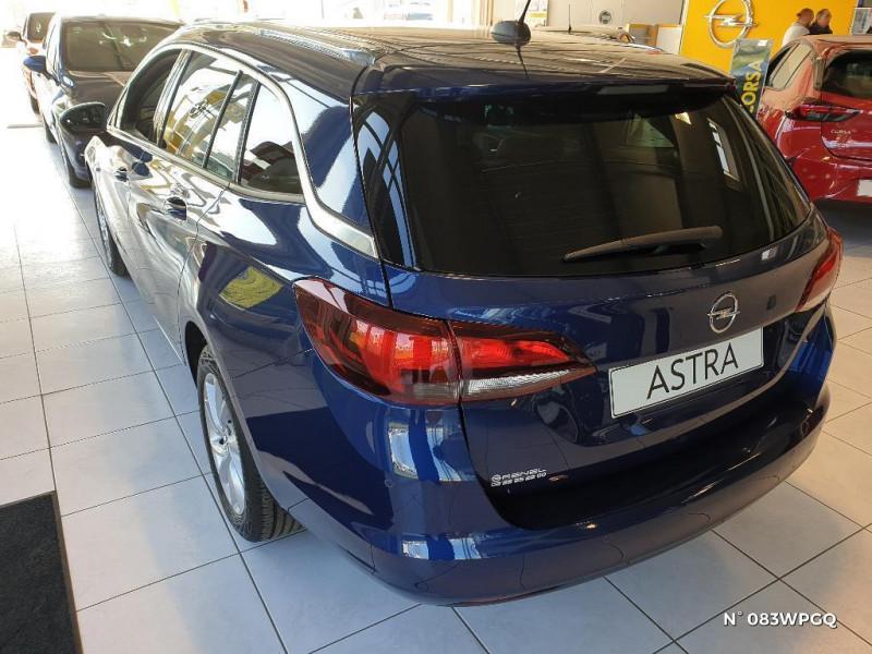 Opel Astra Sports tourer 1.5 D 122ch Elegance BVA 112g Bleu occasion à Abbeville - photo n°3