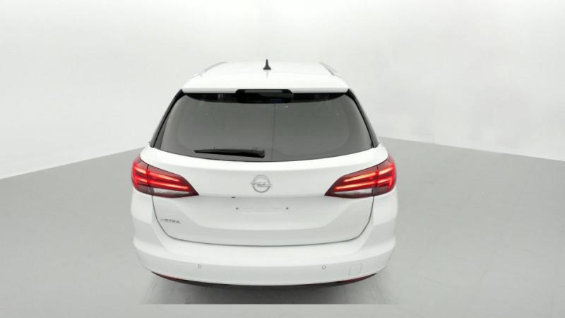 Opel Astra Sports tourer 1.5 Diesel 122 ch BVM6 Elegance Business Blanc occasion à SAINT-GREGOIRE - photo n°5