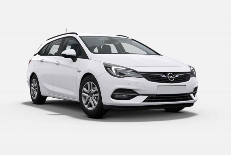 Opel Astra Sports tourer 1.5 Diesel 122 ch BVM6 Elegance Business Blanc occasion à SAINT-GREGOIRE - photo n°17