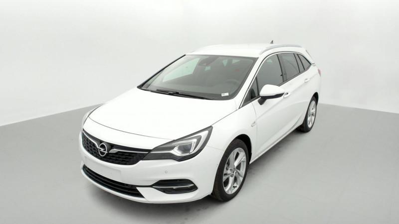 Opel Astra Sports tourer 1.5 Diesel 122 ch BVM6 Elegance Business Blanc occasion à SAINT-GREGOIRE - photo n°3