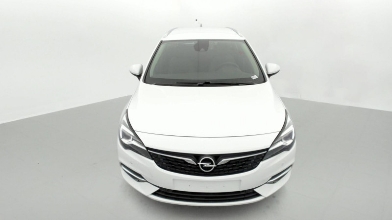 Opel Astra Sports tourer 1.5 Diesel 122 ch BVM6 Elegance Business Blanc occasion à SAINT-GREGOIRE - photo n°2