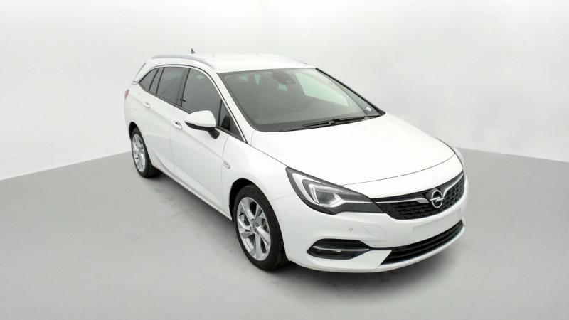 Opel Astra Sports tourer 1.5 Diesel 122 ch BVM6 Elegance Business Blanc occasion à SAINT-GREGOIRE