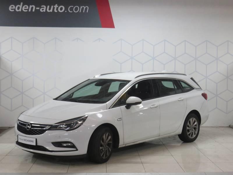 Opel Astra Sports tourer 1.6 CDTI 110 ch Start/Stop Innovation Blanc occasion à Biarritz