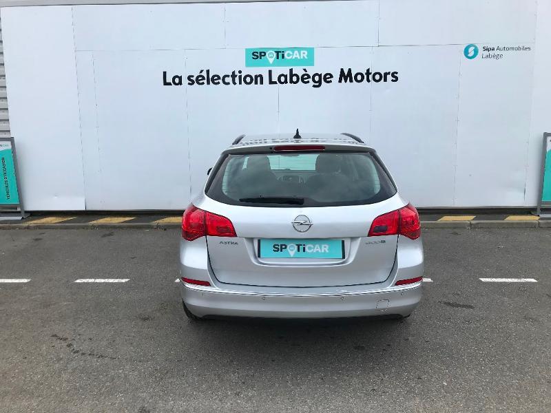 Opel Astra Sports tourer 1.6 CDTI 110ch Business Connect ecoFLEX Start&Stop Gris occasion à Labège - photo n°4