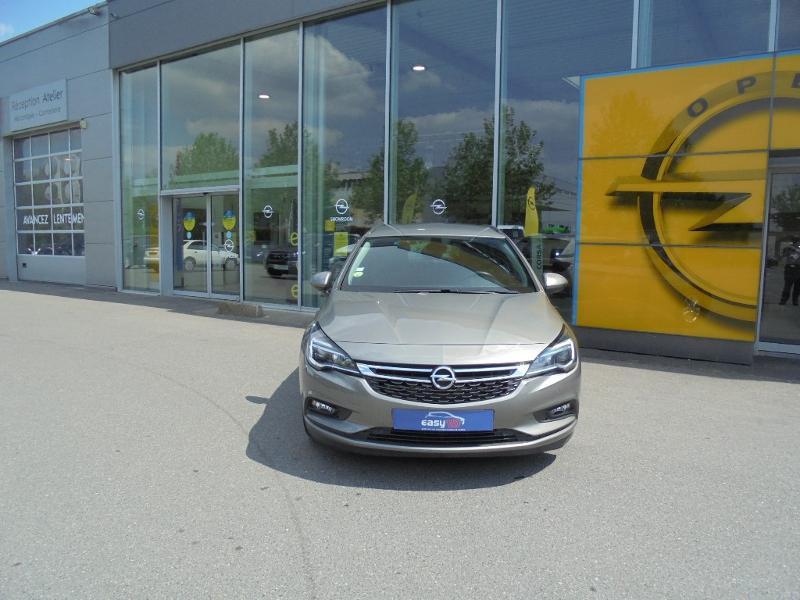 Opel Astra Sports tourer 1.6 CDTI 110ch ecoFLEX Start&Stop Business Edition Gris occasion à Vert-Saint-Denis - photo n°2