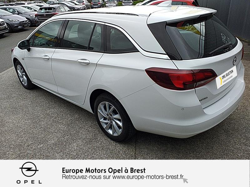 Opel Astra Sports tourer 1.6 CDTI 110ch Innovation Start&Stop Blanc occasion à Brest - photo n°7