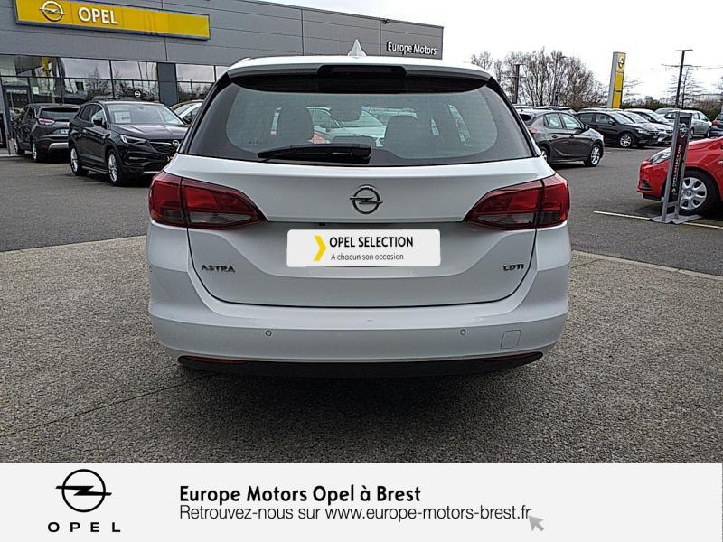 Opel Astra Sports tourer 1.6 CDTI 110ch Innovation Start&Stop Blanc occasion à Brest - photo n°5