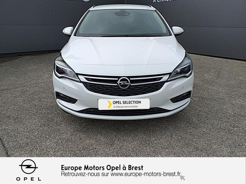 Opel Astra Sports tourer 1.6 CDTI 110ch Innovation Start&Stop Blanc occasion à Brest - photo n°2