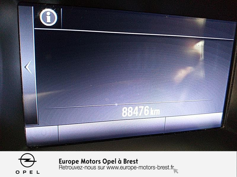 Opel Astra Sports tourer 1.6 CDTI 110ch Innovation Start&Stop Blanc occasion à Brest - photo n°17