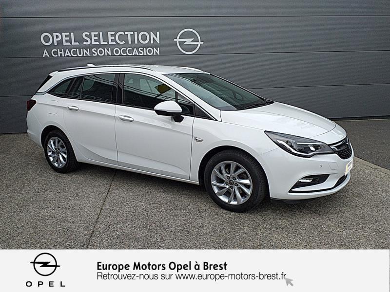 Opel Astra Sports tourer 1.6 CDTI 110ch Innovation Start&Stop Blanc occasion à Brest - photo n°3